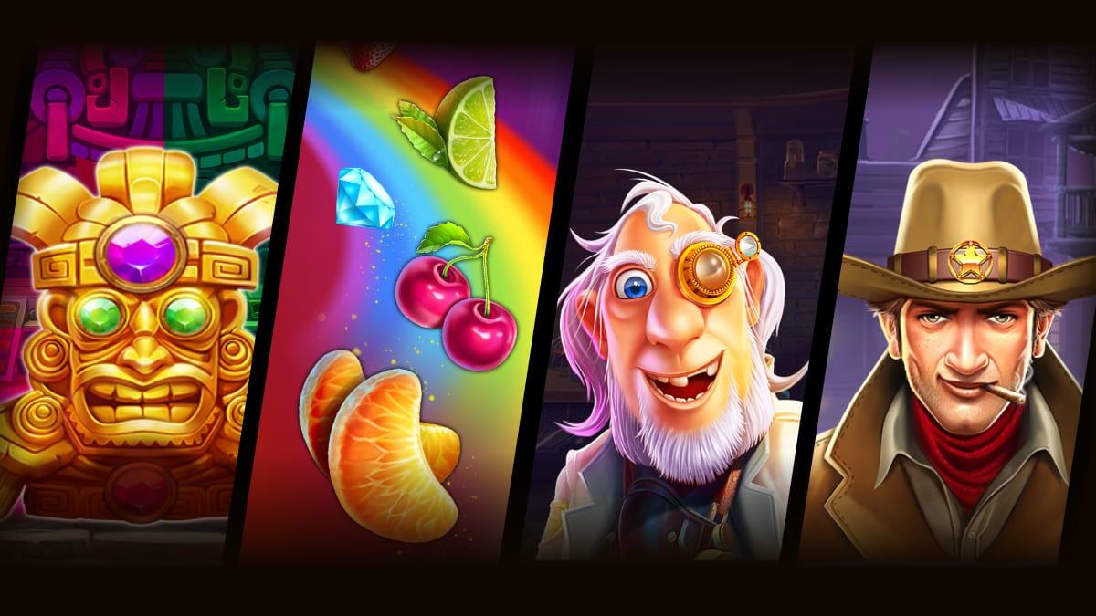 Pragmatic Play 4 New Free Slots Games Banner