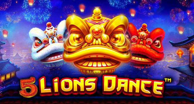 5 Lions Dance Video Slot article banner