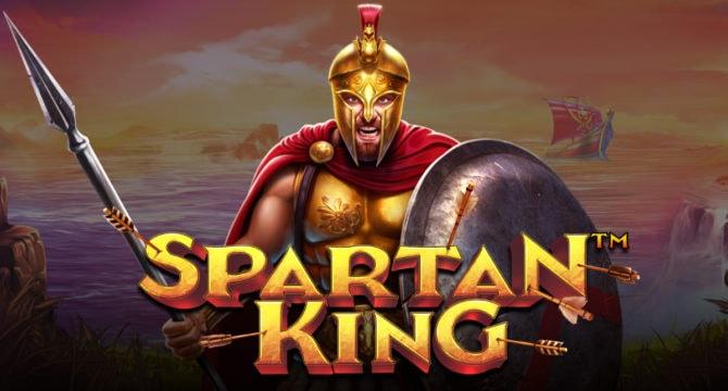 Spartan King Video Slot Banner