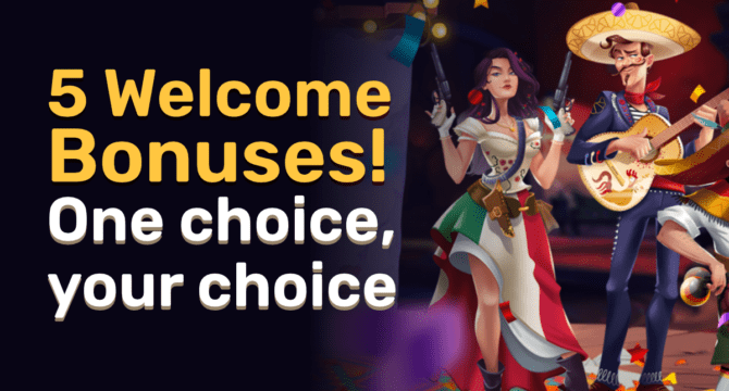 5Gringos Casino Multiple Welcome Bonuses And Promotions