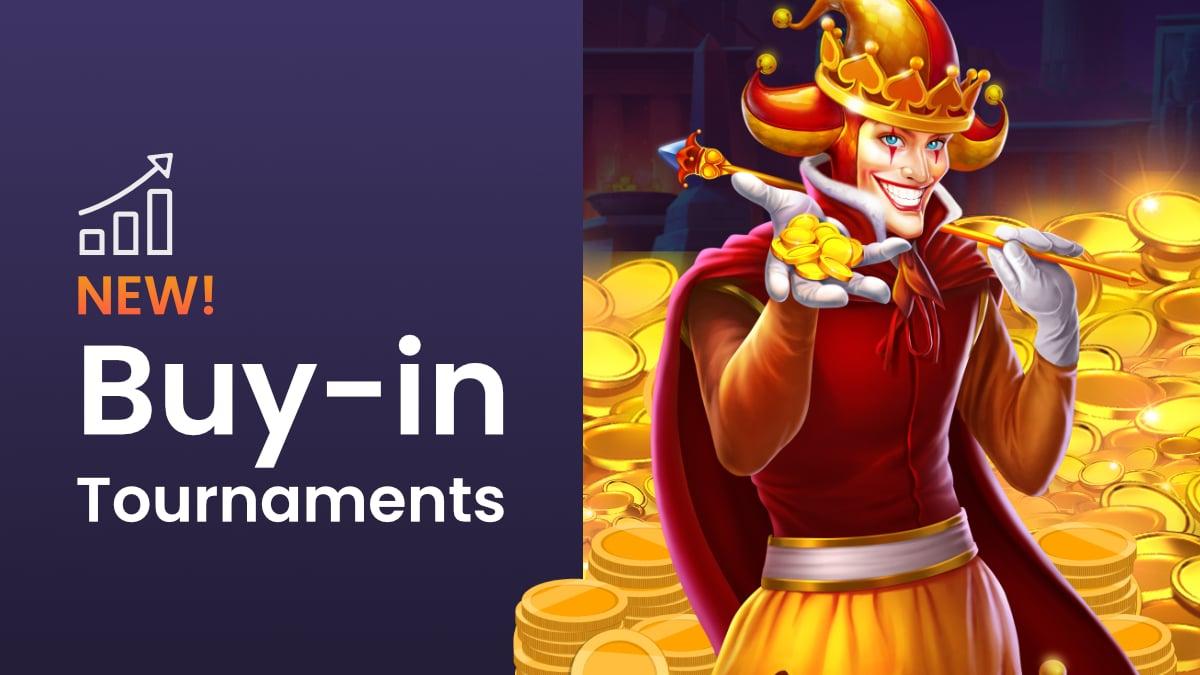 Social Tournaments Progressive Buy-In Tournament